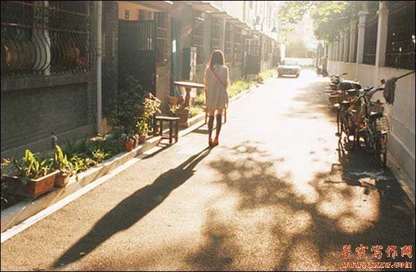 小巷里的阳光