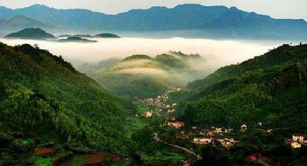 江南四明山国家森林公园仲春游记