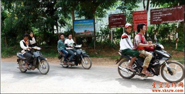 飞渡金三角湄公河 走进缅甸小勐拉